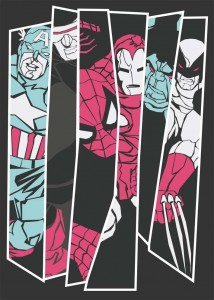 Nicolas_Beaujouan_-_Deconstructed_Avengers_70x50